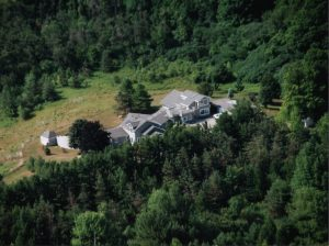 Aerial of Chalet